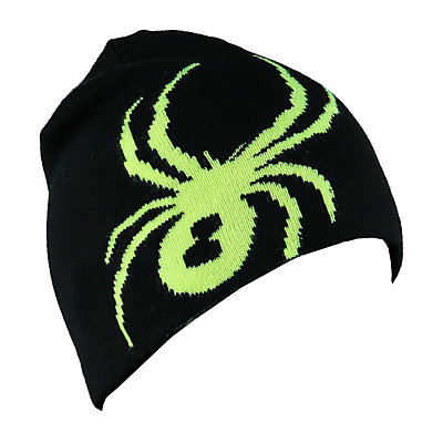Spyder Reversible Innsbruck Mens Hat, Black-Bryte Yellow, viewer