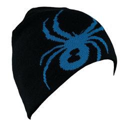Spyder Reversible Innsbruck Mens Hat, Black-Electric Blue, 256