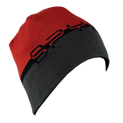 Spyder Reversible Word Hat, Black-Rage-Polar, viewer
