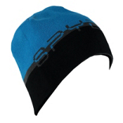Spyder Reversible Word Hat, Polar-Electric Blue-Black, medium