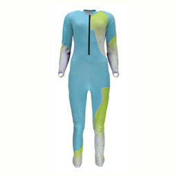 Spyder Nine Ninety Race Suit (Previous Season), Freeze-White-Acid, 256