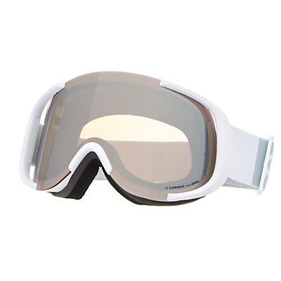 POC Cornea Goggles 2018, Hydrogen White-Bronze Silver M, viewer