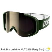 POC Cornea Goggles 2017, Methane Green-Pink Bronze Mirr, medium