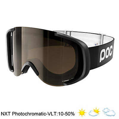 POC Cornea NXT Photo Goggles 2017, Uranium Black-Bronze Photo-Sil, viewer