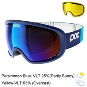 POC Fovea Goggles 2017, Butylene Blue-Persimmon Blue M + Bonus Lens, medium