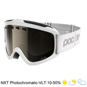 POC Iris 3P Goggles 2017, Hydrogen White-Bronze Photo Si, medium