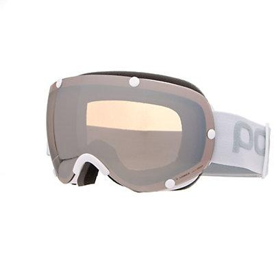 POC Lobes Goggles 2018, Hydrogen White-Bronze Silver M + Bonus Lens, viewer