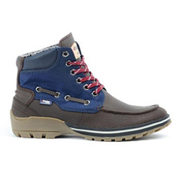 Pajar Brent Mens Boots, Dark Brown-Navy, 256