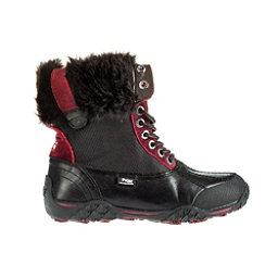 Pajar Gabby Womens Boots, Black-Magenta-Grey, 256