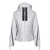Nils Viv Womens Insulated Ski Jacket, White-Velocity Print-Black, medium