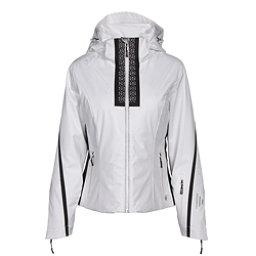 NILS Viv Womens Insulated Ski Jacket, White-Velocity Print-Black, 256