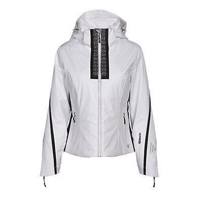 NILS Viv Womens Insulated Ski Jacket, White-Velocity Print-Black, viewer