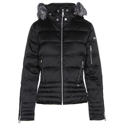 NILS Olivia Fur Womens Insulated Ski Jacket, Black, 256