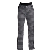 Nils Dominique Stripe Womens Ski Pants, Velocity Print-Black, medium