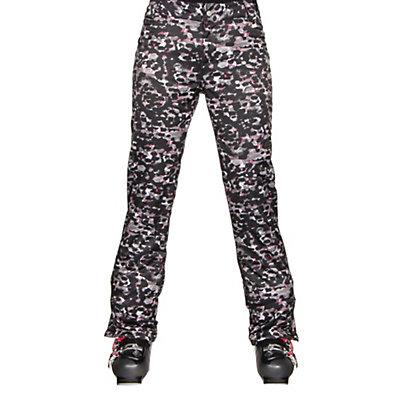 NILS Sienna Print Womens Ski Pants, Silver Mist Print, viewer