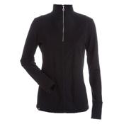 NILS Fallon Womens Long Underwear Top, Black, medium