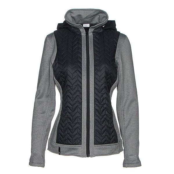 NILS Julie Womens Jacket, Black-Charcoal, 600