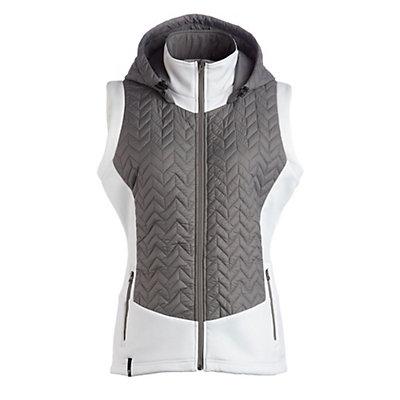 NILS Lottie Womens Vest, Pewter-White, viewer