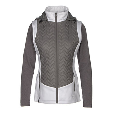NILS Lottie Womens Vest, Pewter-White, viewer
