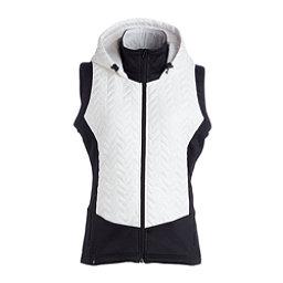 NILS Lottie Womens Vest, White-Black, 256