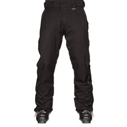 Karbon Rock Mens Ski Pants, Black-Charcoal, 256