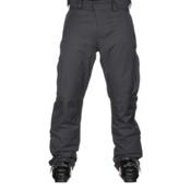 Karbon Rock Mens Ski Pants, Charcoal-Black, medium
