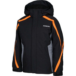 Karbon Merlin Boys Ski Jacket, Black-Smoke-Pylon, 256