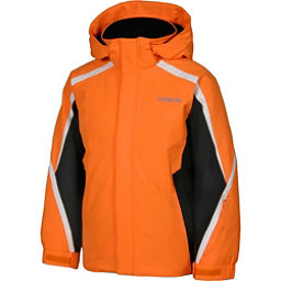 Karbon Merlin Boys Ski Jacket, Pylon-Black-Arctic White, 256