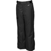 Karbon Stinger Kids Ski Pants, Black-Black, medium