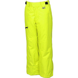 Karbon Stinger Kids Ski Pants, Lime-Black, 256