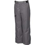 Karbon Stinger Kids Ski Pants, Smoke-Black, medium
