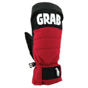 Crab Grab Punch Mittens, Red-Black, medium