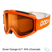 POC POCito Iris Kids Goggles 2018, Zink Orange-Sonar Orange, medium