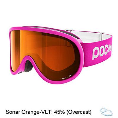 POC POCito Retina Kids Goggles 2018, Fluorescent Pink-Sonar Orange, viewer