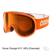 POC POCito Retina Kids Goggles 2018, Zink Orange-Sonar Orange, medium