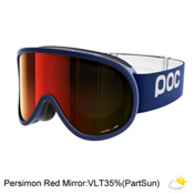 POC Retina Goggles 2018, Butylene Blue-Persimmon Red Mi, medium