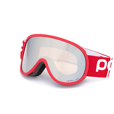 POC Retina Goggles 2017, Butylene Blue-Persimmon Red Mi, viewer