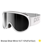 POC Retina Goggles 2017, Hydrogen White-Bronze Silver M, medium