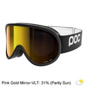 POC Retina Goggles 2017, Uranium Black-Pink Gold Mirror, medium