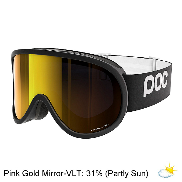 POC Retina Goggles 2017, Uranium Black-Pink Gold Mirror, 600