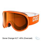 POC Retina Goggles 2017, Zink Orange-Sonar Orange, medium