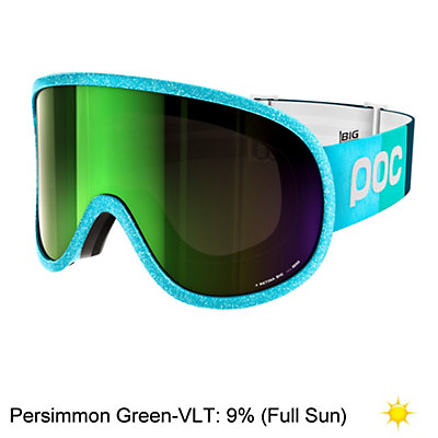 POC Retina Big Julia Mancuso Womens Goggles 2017, Julia Blue-Persimmon Green Mir, viewer