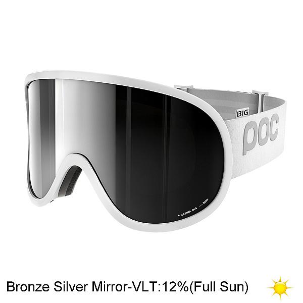 POC Retina Big Goggles 2018, Hydrogen White-Bronze Silver M, 600