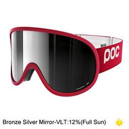 POC Retina Big Goggles 2018, Glucose Red-Bronze Silver Mirr, 256