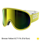 POC Retina Big Goggles 2017, Hexane Yellow-Bronze Yellow Mi, medium