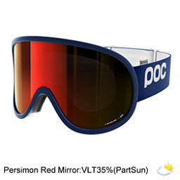 POC Retina Big Goggles 2017, Butylene Blue-Persimmon Red Mi, 256