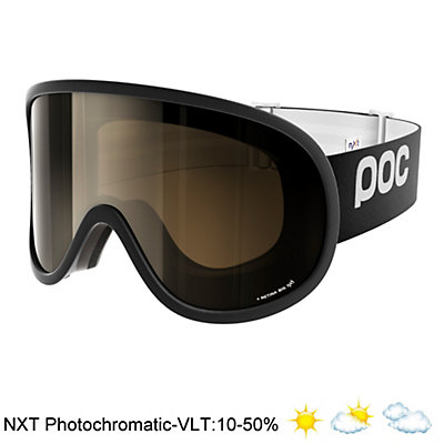 POC Retina Big NXT Photo Goggles 2017, Uranium Black-Bronze Photo Sil, viewer