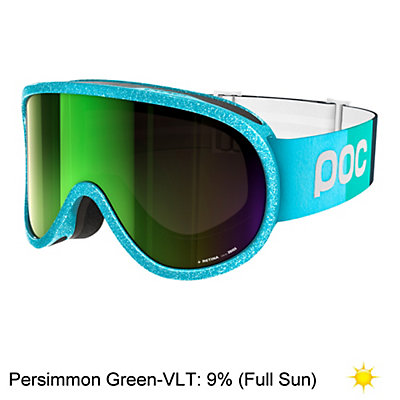 POC Retina Julia Mancuso Womens Goggles 2017, Julia Blue-Persimmon Green Mir, viewer