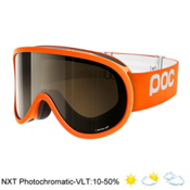 POC Retina NXT Photo Goggles, Zink Orange-Bronze Photo Silve, medium