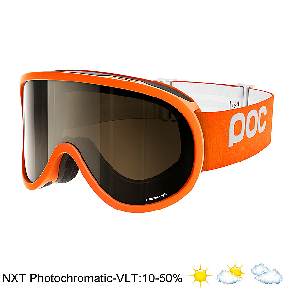 POC Retina NXT Photo Goggles, Zink Orange-Bronze Photo Silve, 600